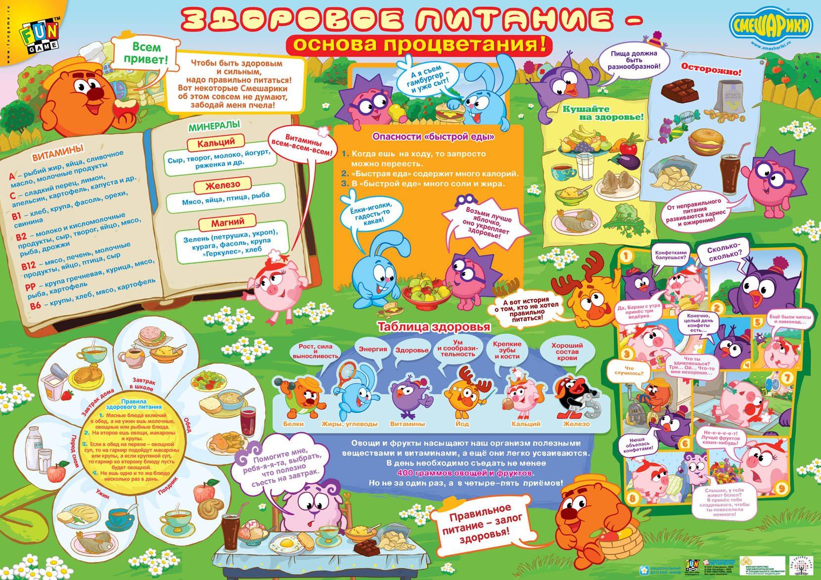 b9fc46ffe4dd Плакат здоровый образ жизни для детей   torgbiznes-ufa.ru