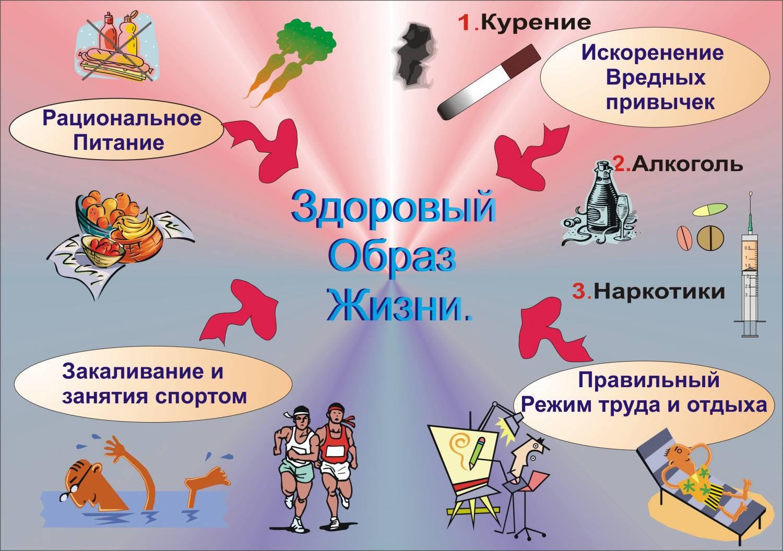 здоровый образ жизни родителей и детей